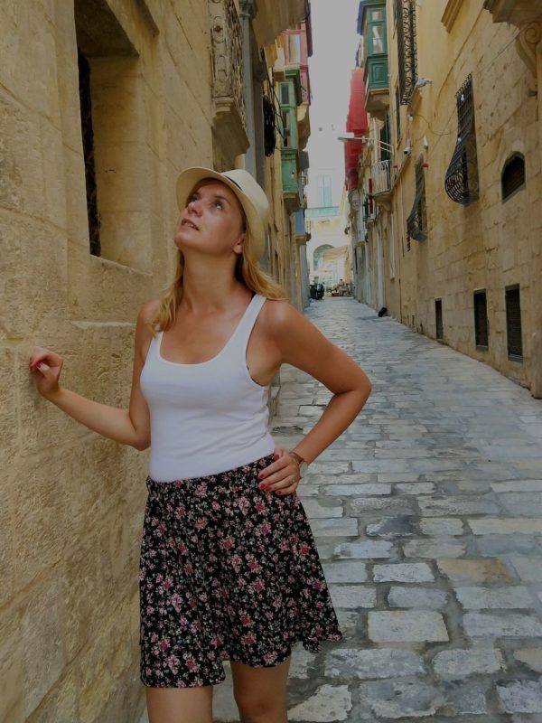 Spacer uliczkami Valetty - Valetta, Malta